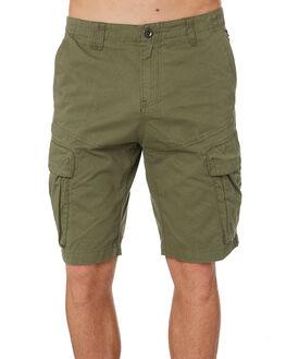 WORN OLIVE MENS CLOTHING OAKLEY SHORTS - 442128AU79B