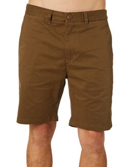 FIELD GREEN MENS CLOTHING GLOBE SHORTS - GB01216001FDGRN