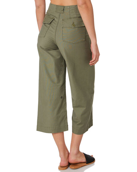 ARMY COMBO OUTLET WOMENS VOLCOM PANTS - B1112000ARC