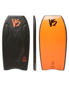 BLACK RED SURF BODYBOARDS VS BODYBOARDS BOARDS - V18IGNITE40BLBLKRD