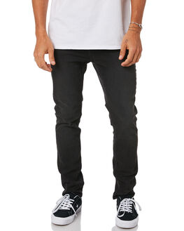 BLACK MODE MENS CLOTHING CHEAP MONDAY JEANS - 0505780BLK