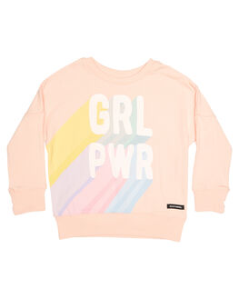 PEACH KIDS TODDLER GIRLS ROCK YOUR BABY JUMPERS - TGH1818-GPPCH