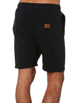 BLACK MENS CLOTHING RUSTY SHORTS - WKM0758BLK