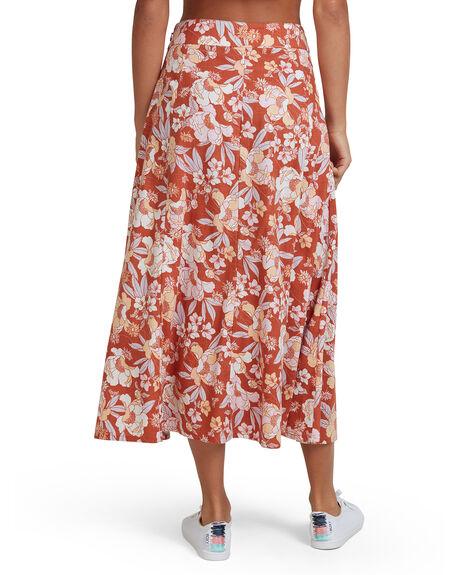 FLORENCE FEELS FLORA WOMENS CLOTHING ROXY SKIRTS - URJWK03020-NNY8