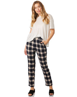 NAVY CREAM WOMENS CLOTHING ROLLAS PANTS - 12969-4555