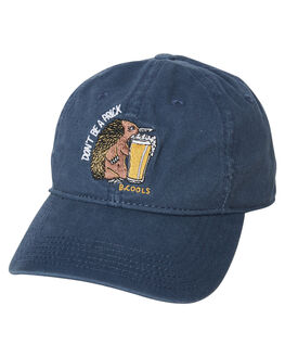 NAVY MENS ACCESSORIES BARNEY COOLS HEADWEAR - 908-CC4NVY