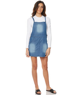 MID BLUE WOMENS CLOTHING ELEMENT PLAYSUITS + OVERALLS - 273870AMID