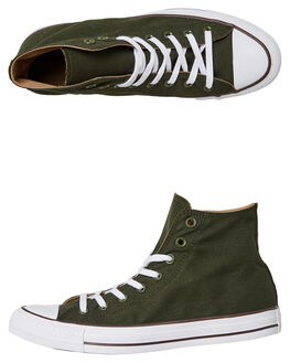 UTILITY GREEN TEAK MENS FOOTWEAR CONVERSE SNEAKERS - 162449GRN