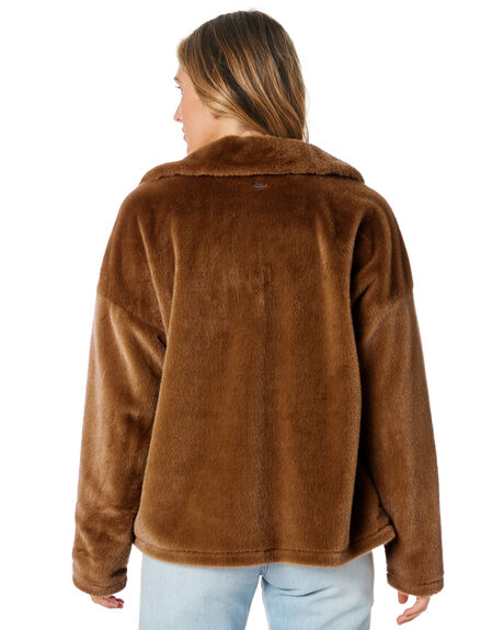CARAMEL WOMENS CLOTHING O'NEILL JACKETS - HO9402011CML