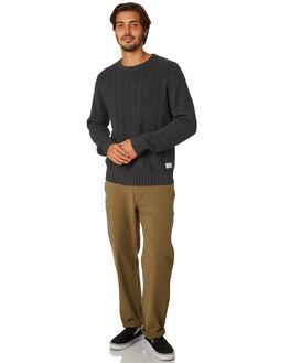 VINTAGE BLACK MENS CLOTHING RHYTHM KNITS + CARDIGANS - APR19M-KN04-BLK