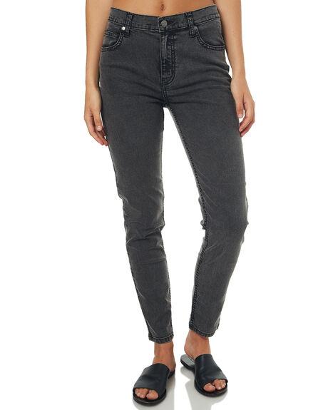 BLACK ACID WOMENS CLOTHING AFENDS JEANS - 5301010BLKA1
