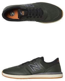 FOREST GUM MENS FOOTWEAR NEW BALANCE SKATE SHOES - NM420BSN