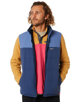 STONE BLUE MENS CLOTHING PATAGONIA JACKETS - 27587SBWO