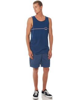 ESTATE BLUE MENS CLOTHING QUIKSILVER SINGLETS - EQYZT04674BSW0