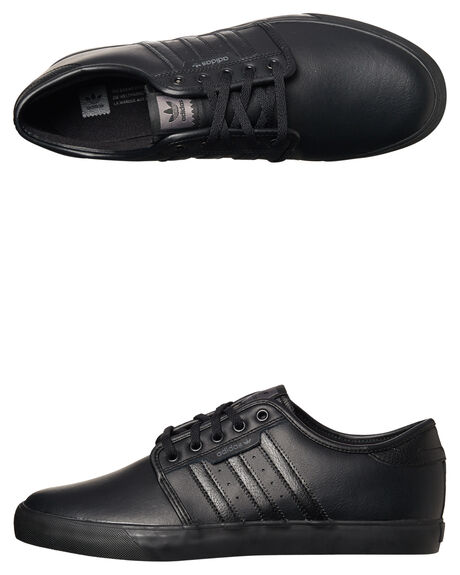 Adidas Seeley Shoes Black Leather