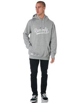 GREY MARLE MENS CLOTHING RPM JUMPERS - 8PMT16BGRYM