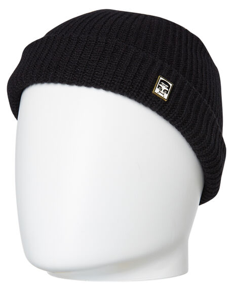 63cd910c3d1 Obey Micro Beanie - Black