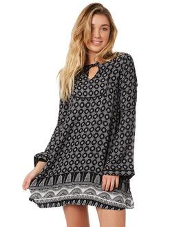 ANTHRACITE STH BORDR WOMENS CLOTHING ROXY DRESSES - ERJWD03234KVJ7