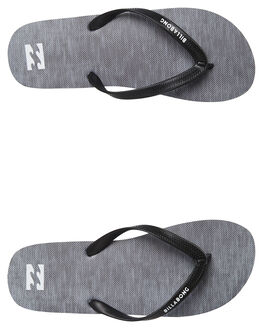 ASPHALT MENS FOOTWEAR BILLABONG THONGS - 9682947ASP