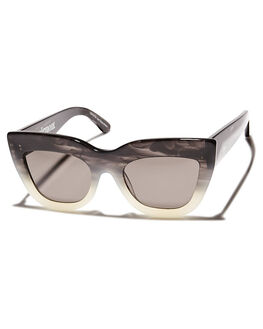 BLACK WITH WHITE FADE MENS ACCESSORIES VALLEY SUNGLASSES - S0077BWF