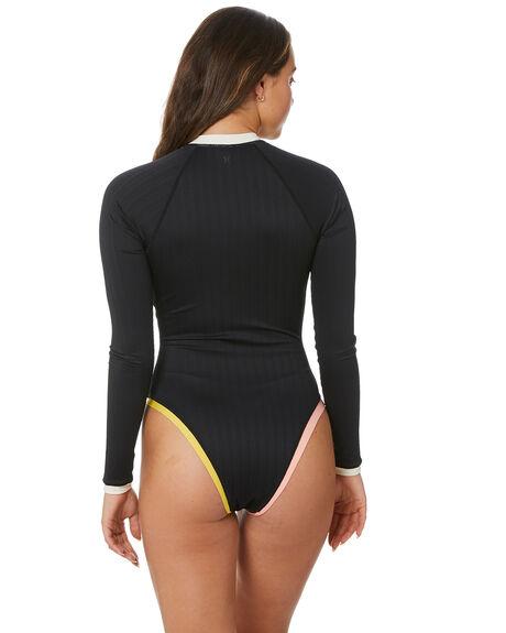 BLACK COLOURBLOCK BOARDSPORTS SURF HURLEY WOMENS - HO1052006