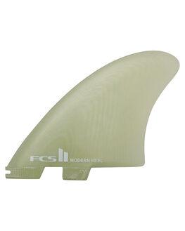 CLEAR BOARDSPORTS SURF FCS FINS - FMKX-PG02-XL-SS-RCLR