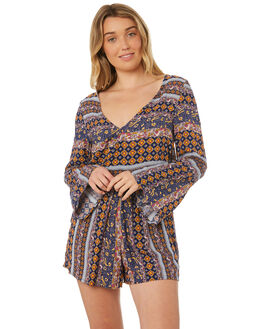MULTI AZTEC WOMENS CLOTHING O'NEILL PLAYSUITS + OVERALLS - 4722003-MAZ