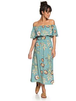 TRELLIS BIRD FLOWER WOMENS CLOTHING ROXY DRESSES - ERJWD03250BKW6