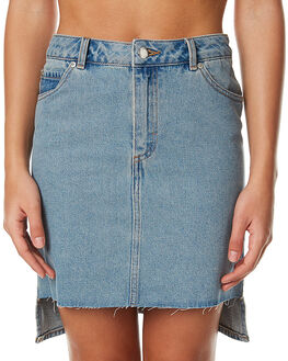 FANS BLUE WOMENS CLOTHING CHEAP MONDAY SKIRTS - 0404183FANS