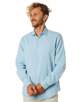 CHAMBRAY MENS CLOTHING ACADEMY BRAND SHIRTS - 19W890CHAMB