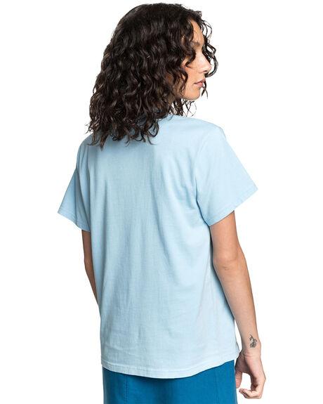 CERULEAN WOMENS CLOTHING QUIKSILVER TEES - EQWKT03049-BFN0