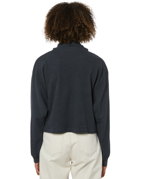 BLACK WOMENS CLOTHING MISFIT JUMPERS - MT115106BLK