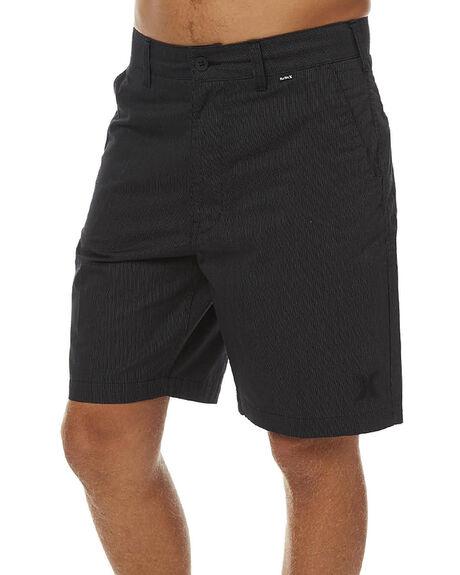 BLACK MENS CLOTHING HURLEY SHORTS - AMWSRAM00A