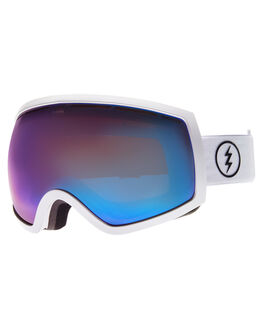 GLOSS WHT BROSE BLU SNOW ACCESSORIES ELECTRIC GOGGLES - EG0516106BRBL