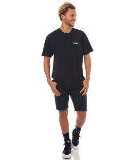 BLACK MENS CLOTHING GOOD WORTH TEES - TVC1731BLK