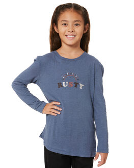 BLUE ASHES KIDS GIRLS RUSTY TOPS - TTG0011BHH