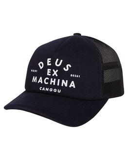 MIDNIGHT BLUE MENS ACCESSORIES DEUS EX MACHINA HEADWEAR - DMW97106CMBLU
