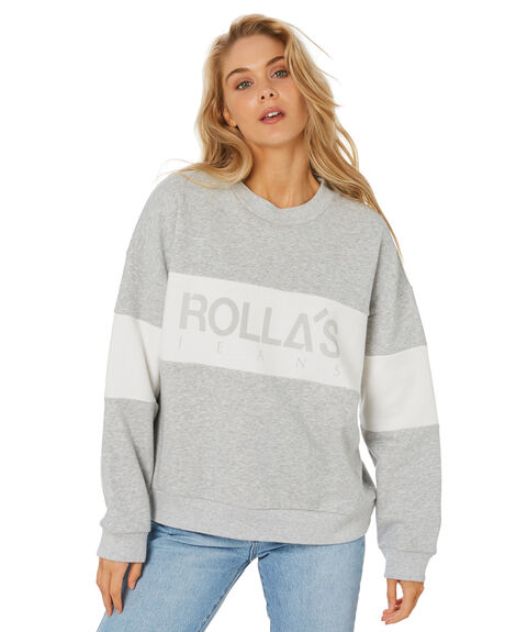 GREY MARLE WOMENS CLOTHING ROLLAS JUMPERS - 14062050