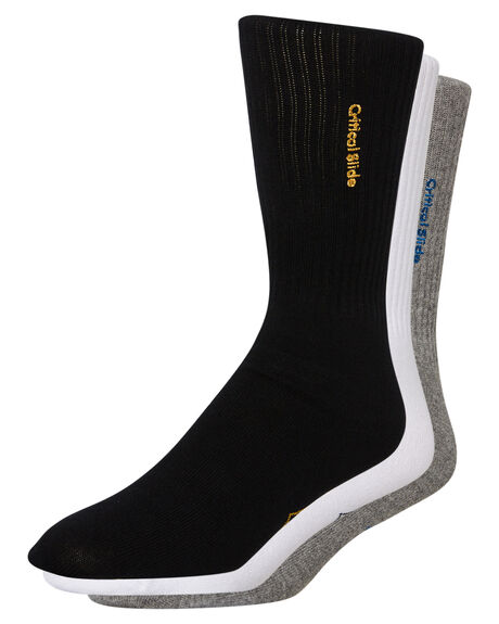 ASSORTED MENS CLOTHING THE CRITICAL SLIDE SOCIETY SOCKS + UNDERWEAR - SWA1713ASST