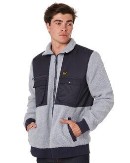 ASH GREY MENS CLOTHING DEPACTUS JACKETS - D5194385ASHGY