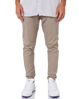 ALMOND MENS CLOTHING ZANEROBE PANTS - 703-CONALM
