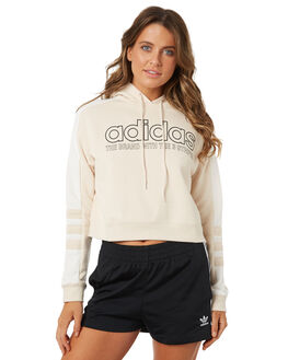 LINEN WOMENS CLOTHING ADIDAS ORIGINALS JUMPERS - DH4201LIN