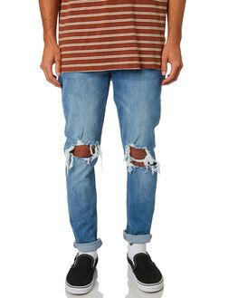 RAZORS EDGE BLUE MENS CLOTHING WRANGLER JEANS - W-901493-KS6REBLU