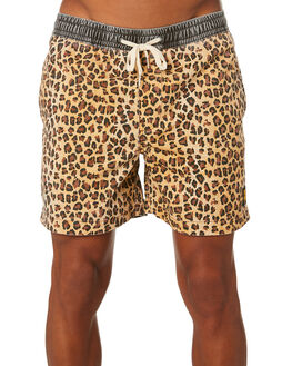 BROWN MENS CLOTHING INSIGHT BOARDSHORTS - 1000082594BRWN
