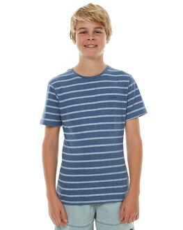 MOROCCAN BLUE KIDS BOYS MOSSIMO TEES - 3M71CBMOR