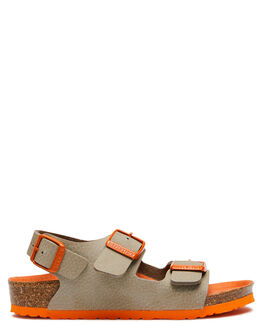 DESERT SOIL KIDS BOYS BIRKENSTOCK THONGS - 1014493DSOIL