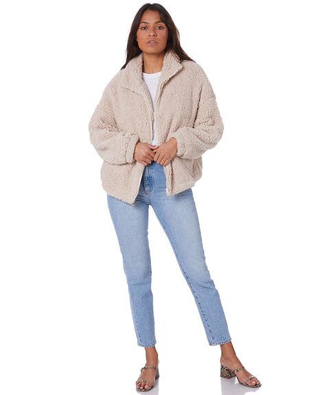 CREAM WOMENS CLOTHING SNDYS JACKETS - SFJ051CREAM