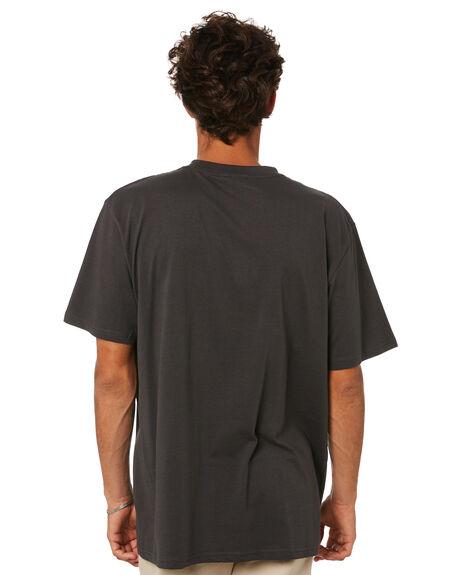 AGED BLACK MENS CLOTHING FORMER TEES - FTE-21102AGBLK