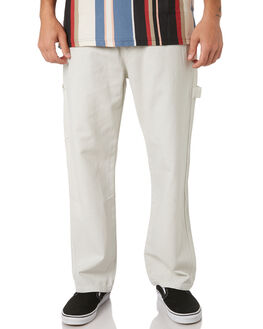WHITE SAND OUTLET MENS STUSSY PANTS - ST096605WHSND