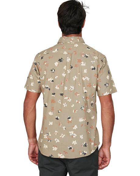 DUST YELLOW MENS CLOTHING RVCA SHIRTS - RV-R106186-DYL